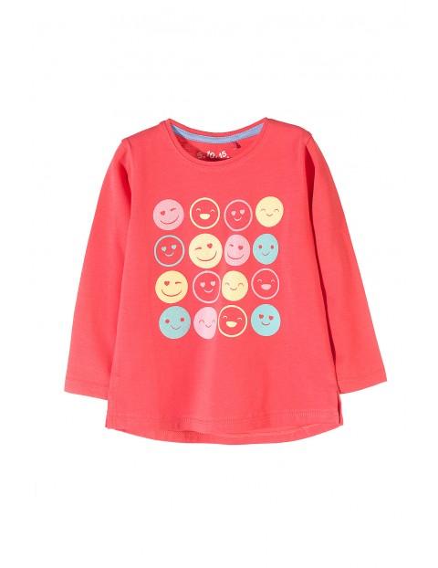 Bluzka dziewczęca 100% bawełna 3H3504