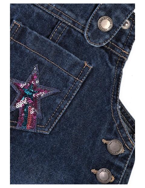 Spódniczka niemowlęca jeansowa - ogrodniczka