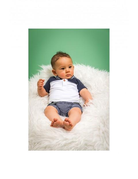 Spodenki dresowe niemowlęce