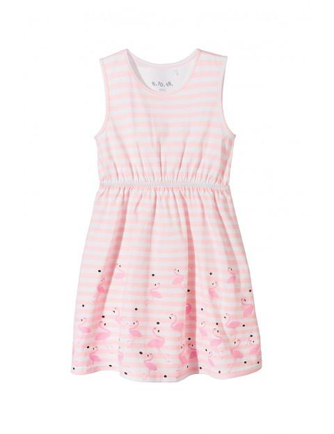 Sukienka dziewczęca 100% bawełna 3K3420