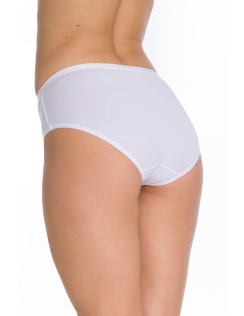 Klasyczne figi damskie bikini - białe 2szt