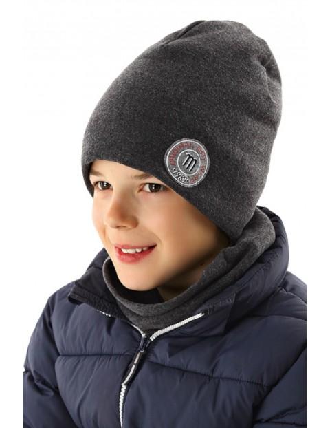 Czapka zimowa dla chłopca 1X35AP