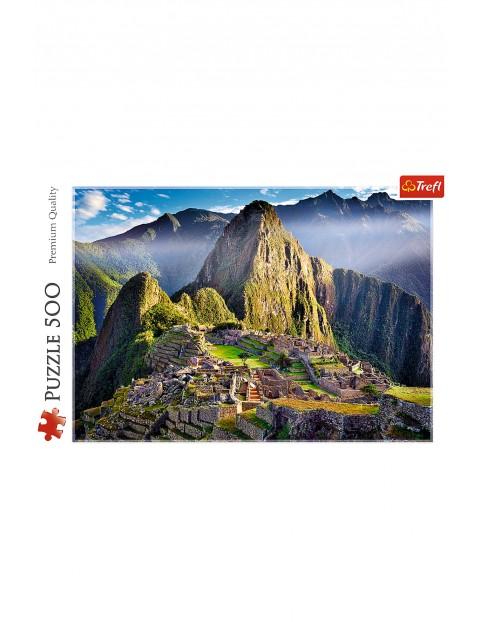 Puzzle Zabytkowe sanktuarium Machu Picchu - 500 elementów