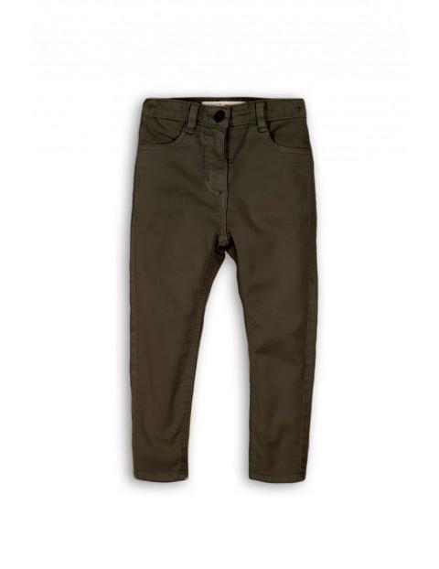 Szare spodnie dla dziewczynki