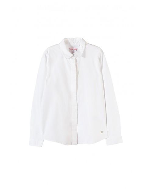 Koszula dziewczęca biała 4J3503