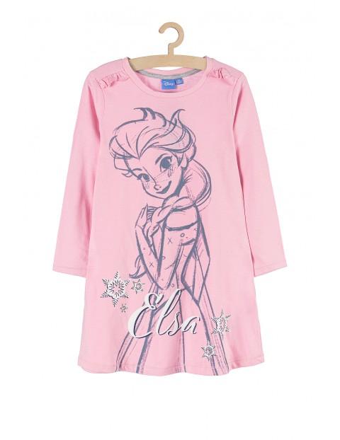 Koszula nocna Kraina Lodu- różowa