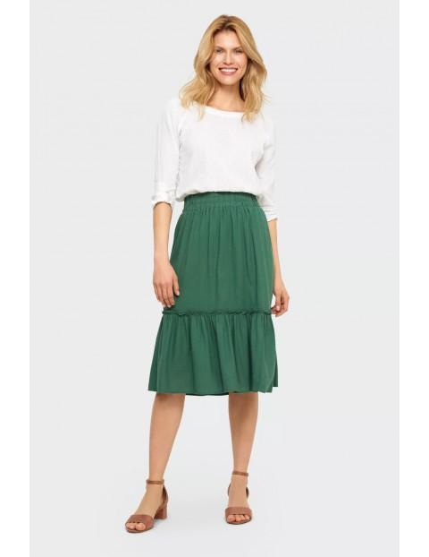 Bluzka damska w kolorze białym