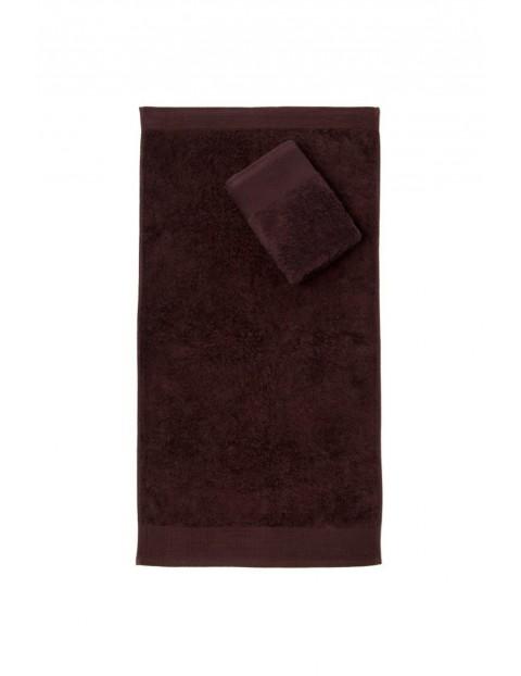 Ręcznik Aqua Frotte brązowy 50x100 cm