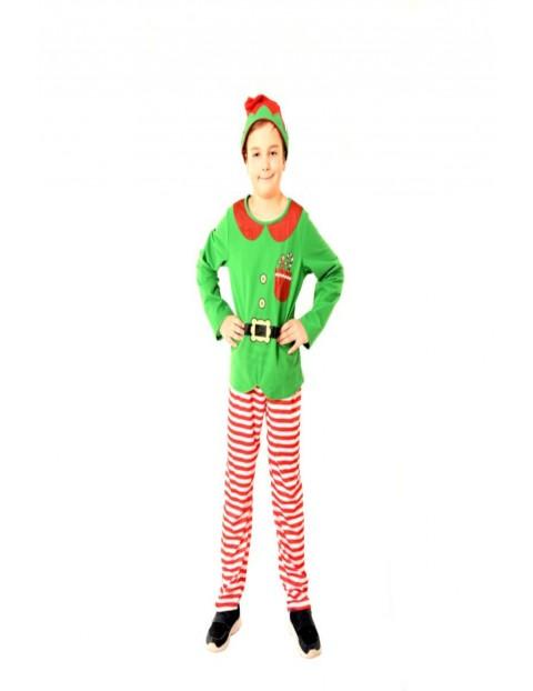 Strój Elf pomocnik Świętego Mikołaja