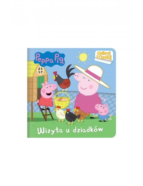 Książki dziecięce - Świnka Peppa. Odkryj i czytaj  2 Wizyta u dziadków