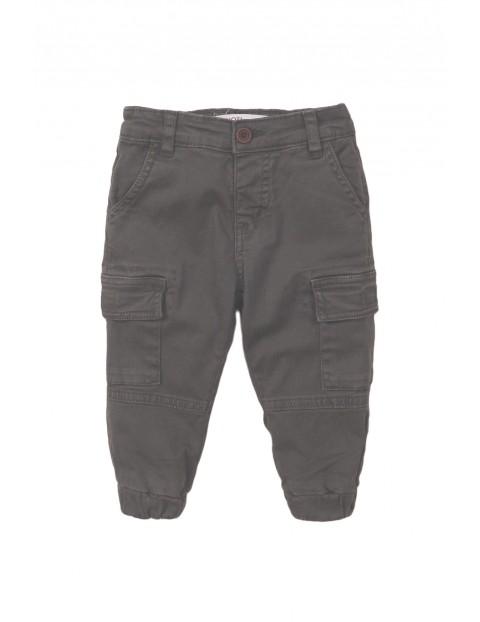 Spodnie niemowlęce- szare