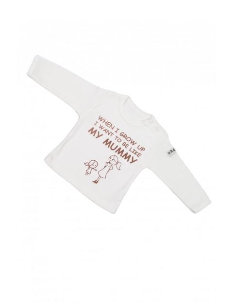 Bluzla niemowlęca długi rękaw 5H31A7
