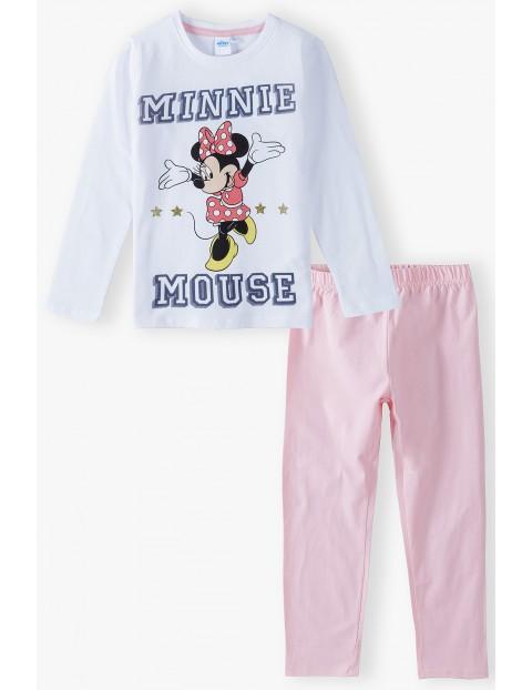 Bawełniana piżama dziewczęca Minnie