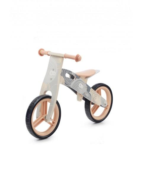 Rowerek biegowy Kinderkraft RUNNER szary wiek 3+