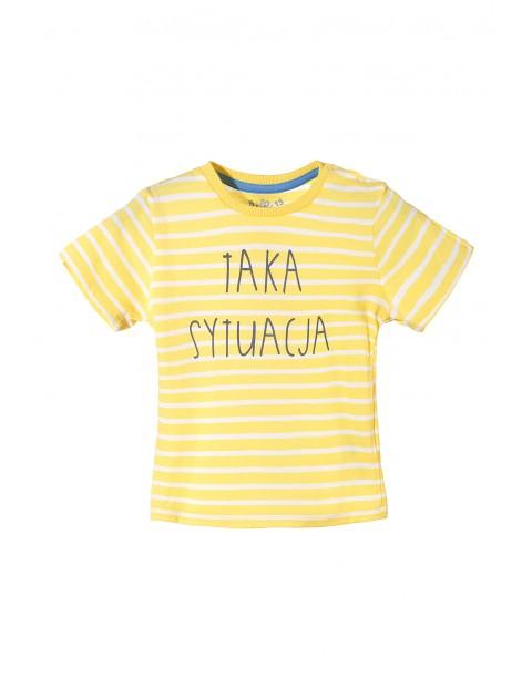 T-shirt niemowlęcy 5I3217