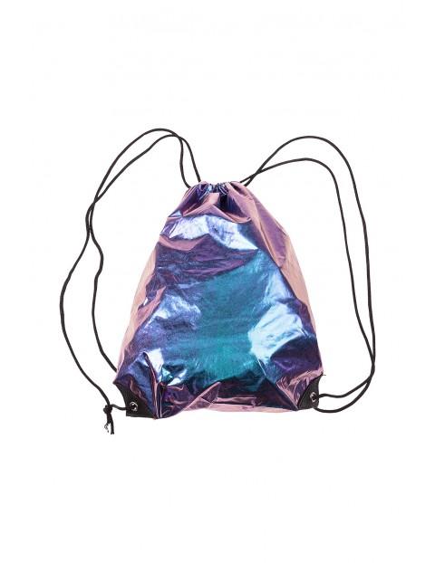 Worek-plecak dziewczęcy