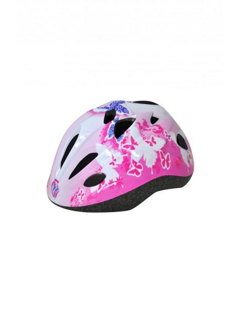 Kask rowerowy dla dziewczynki 4Y32AF