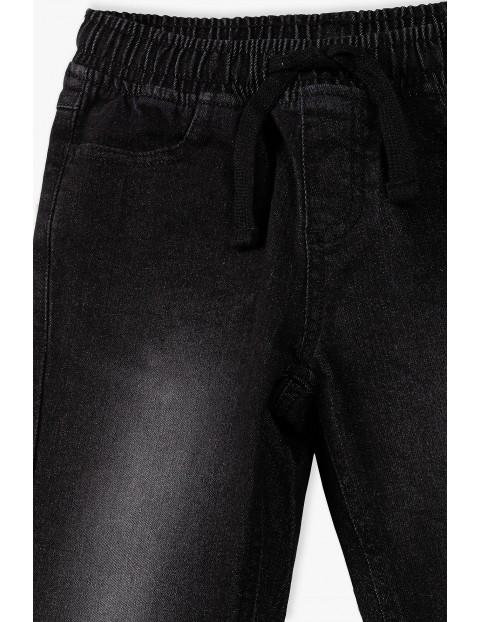 Spodnie chłopięce w kolorze czarnym