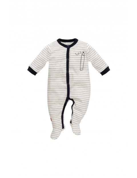Pajac bawełniany dla niemowlaka 5R35AX