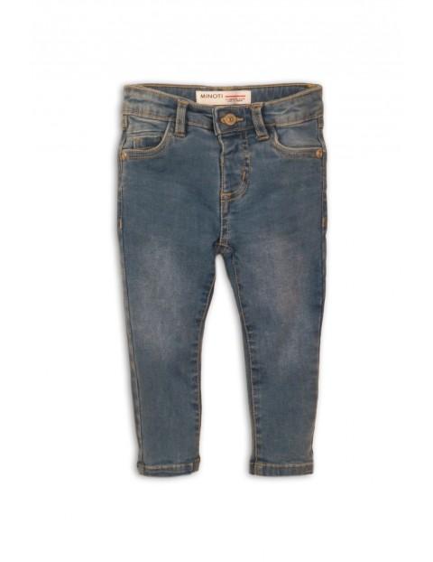 Jeansy dla dziewczynki - niebieskie rurki