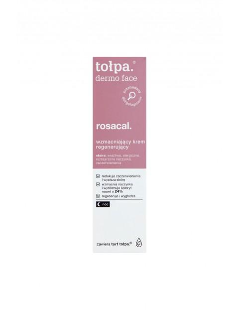 Tołpa dermo face rosacal Wzmacniający krem regenerujący na noc 40 ml