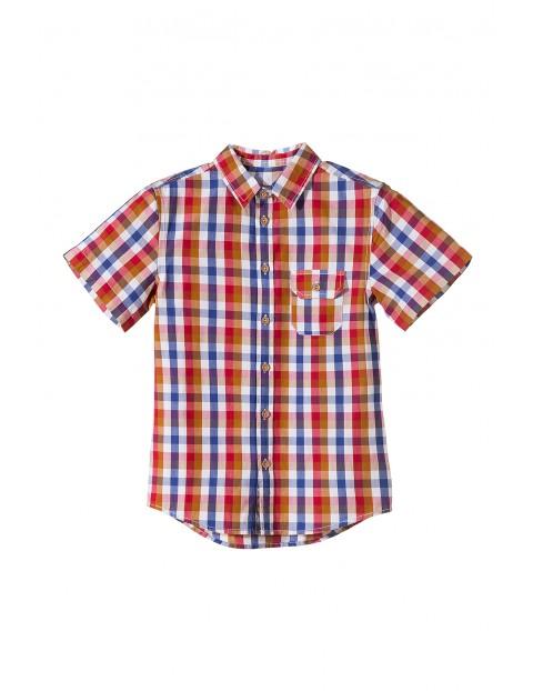 Koszula chłopięca krótki rękaw 2J3406