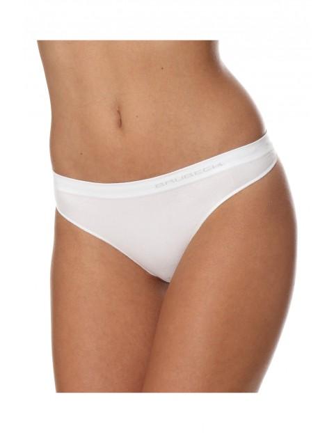 Stringi damskie COMFORT COTTON kolor biały