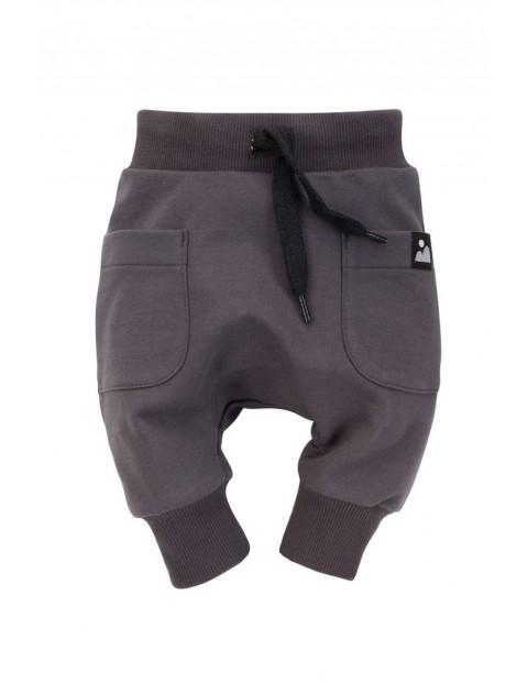 Spodnie pumpy  chłopięce Dreamer w kolorze grafitowym