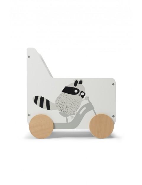 Drewniana skrzynia na zabawki Racoon Kinderkraft