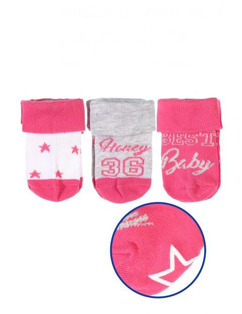 Skarpety niemowlęce 3pak 5V3438