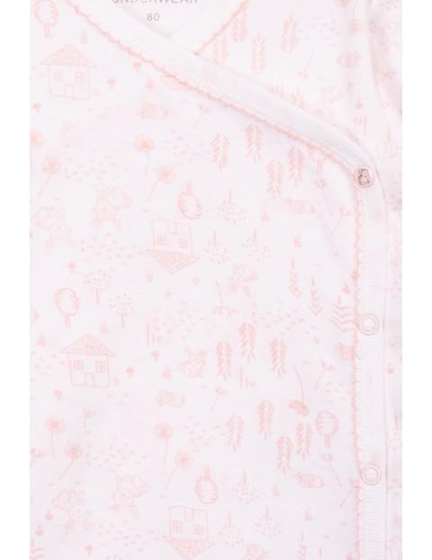 Body kopertowe dla dziewczynki- 100% bawełna
