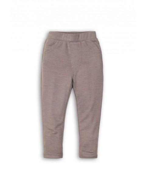 Spodnie jegginsy dziewczęce 3L35AF