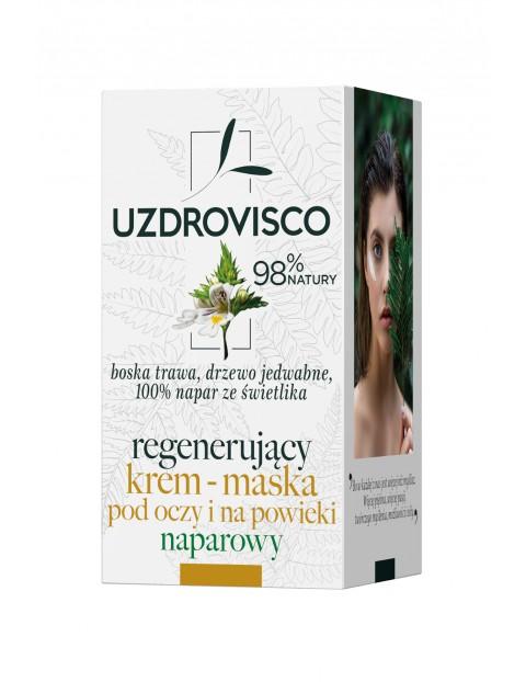 Uzdrovisco Świetlik Regenerujący krem maska pod oczy i na powieki naparowy - 25ml