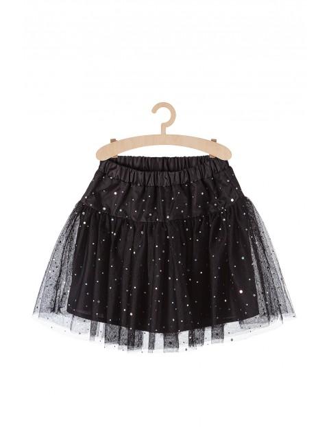 Spódnica tiulowa dla dziewczynki z połyskującymi cekinami