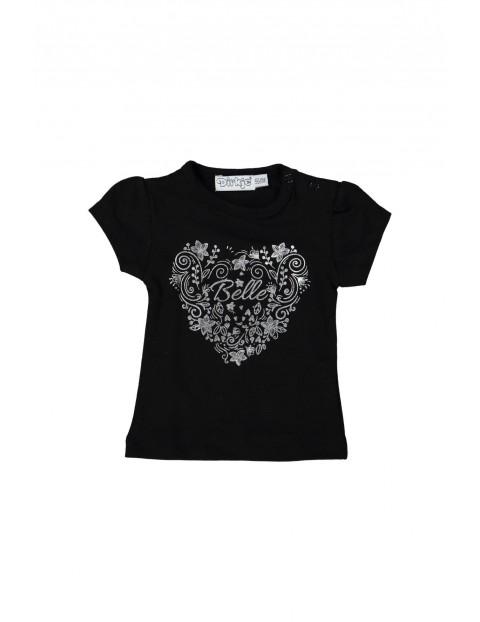 T-shirt niemowlęcy dzianinowy