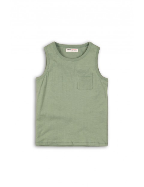 Zielona bluzka na ramiączka- 100% bawełna