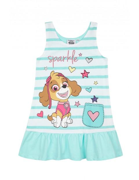 Sukienka dziewczęca na lato Psi Patrol