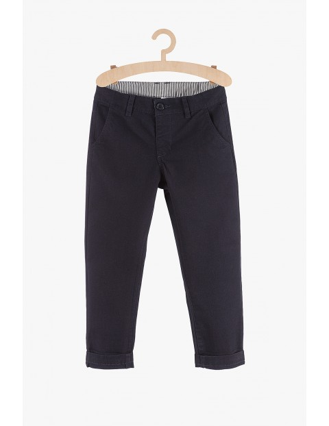 Spodnie chłopięce materiałowe