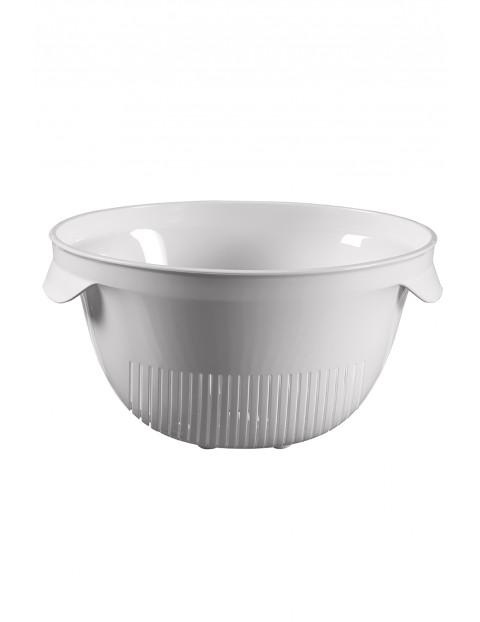 Cedzak okrągły biały Curver - 26x23x13,2cm