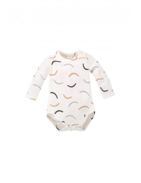 Bawełniane body niemowlęce we wzorki