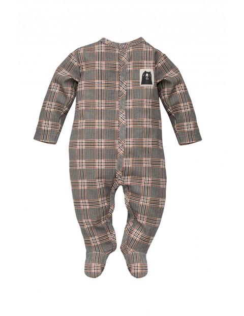 Pajac niemowlęcy w kratę Bears Club