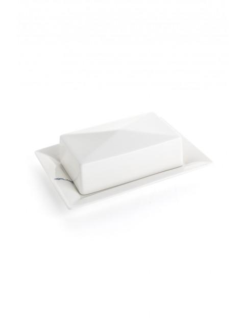Maselnica porcelanowa Alta w kolorze białym 20,5x14,5cm