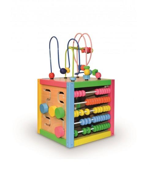 Zaczarowane pudełko Smily Play - drewniana zabawka edukacyjna