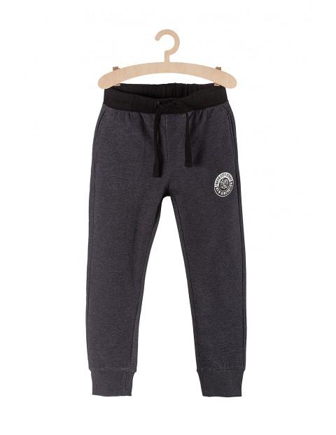 Dresowe spodnie dla chłopca-szare