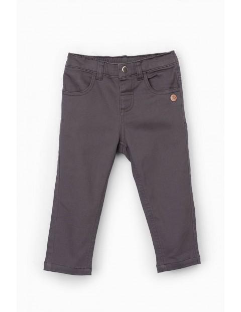 Spodnie niemowlęce szare