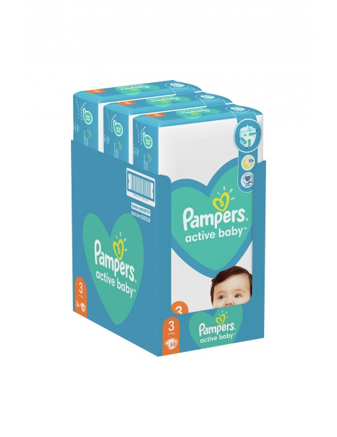Pampers Active Baby, rozmiar3, 58szt, 6-10kg