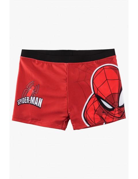 Kąpielówki chłopięce Spiderman- czerwone
