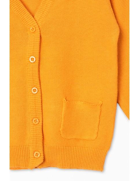 Bawełniany sweterek dla niemowlaka