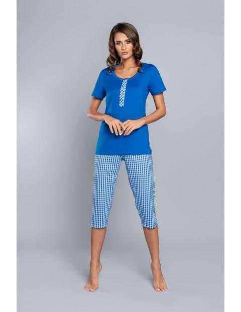 Dwuczęściowa piżama damska stworzona dla karmiących mamach