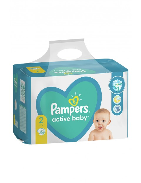 Pampers Active Baby, rozmiar2, 96pieluszek, 4-8kg